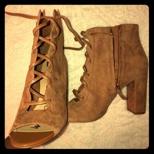Sam Edelman Open Toe Bootie